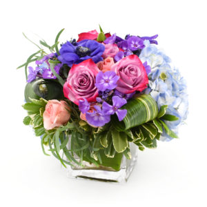 Palmer's Flowers: Seasonal Mix Arrangement (cube)