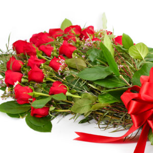 Valentine's Day at Palmer's Flowers - Red Rose Bouquet