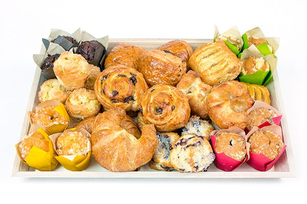 Assorted Mini Pastry Basket