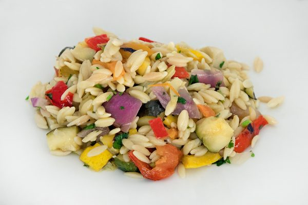 Orzo Grilled Vegetable