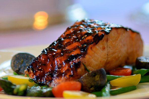 Yakiniku Glazed Salmon
