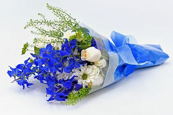 Blue Wave Floral Bouquet