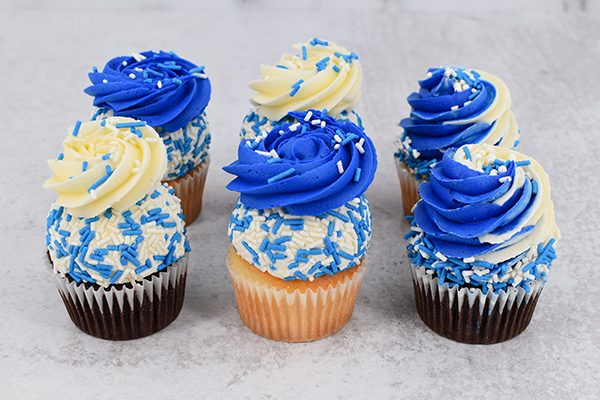 Blue Wave Cupcakes