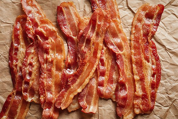 Thick-Cut Bacon Strips
