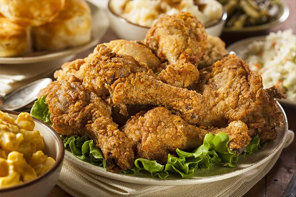 Fried Chicken (Available in 2 varieties)