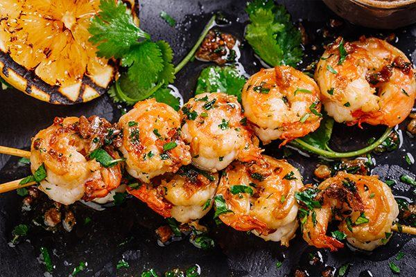 Cajun Shrimp Platter