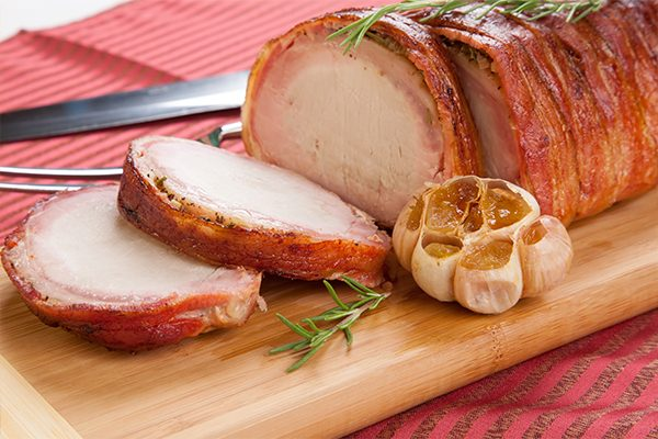 Pancetta Wrapped Pork Loin