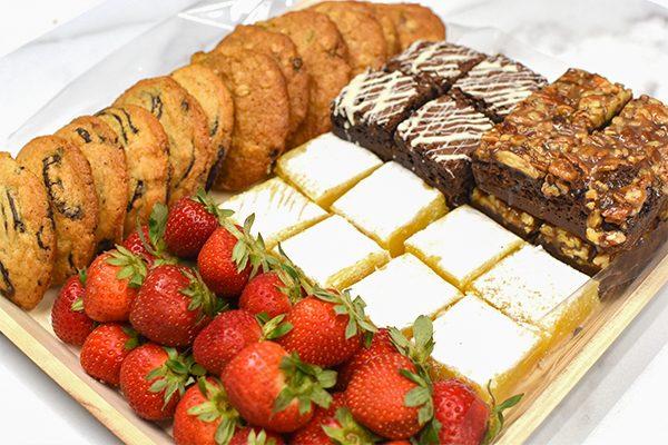 Cookie, Brownie & Lemon Bar Platter