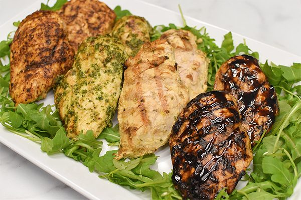 Grilled Chicken Breast (Available in 4 varieties)
