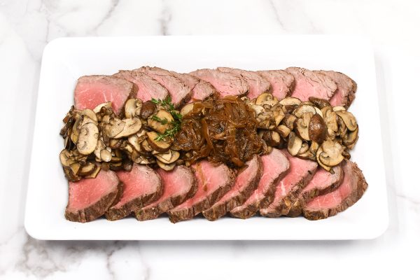 Herb Rubbed Filet Mignon Platter