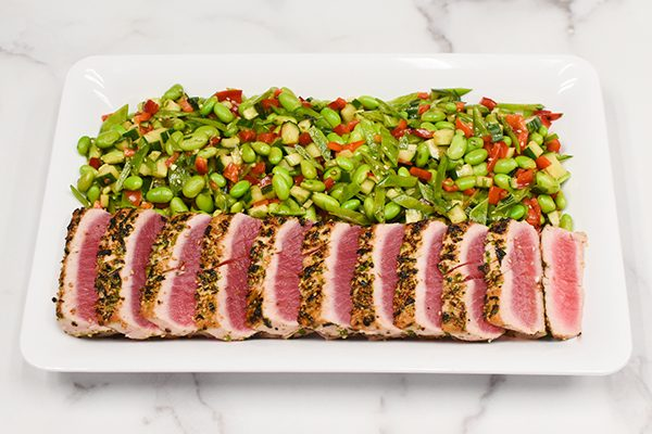 Sesame Seared Tuna Platter