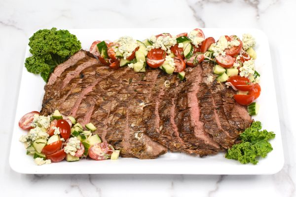 Grilled Flank Steak Platter