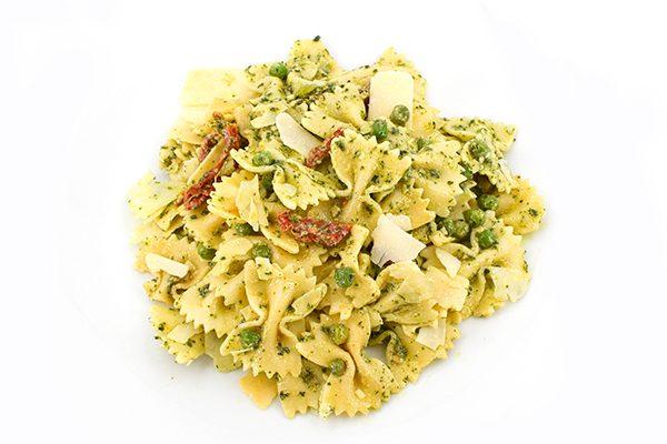 Pesto Pasta & Pea Salad