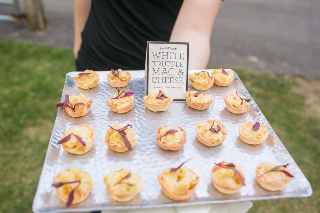 White Truffle Mac & Cheese Tarts