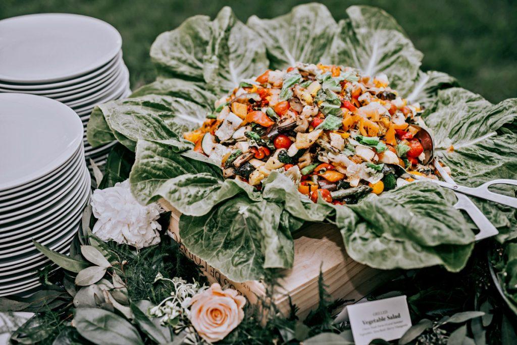 Roasted Summer Vegetable Salad
