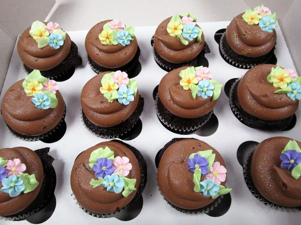 Chocolate-with-Flowers