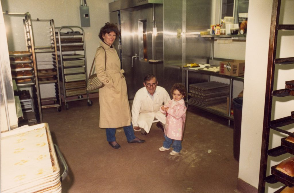 Palmers – Rocco – Bakery – with family