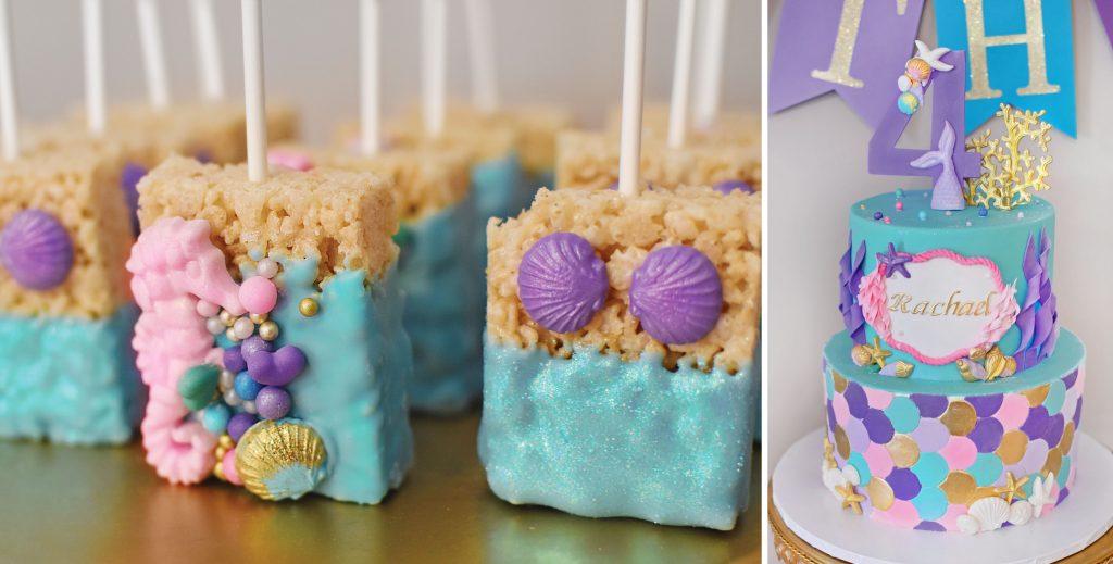 Palmers Bakery – Darien CT – Dessert Bars – Weddings – Events – Kids Party – Mermaids 3