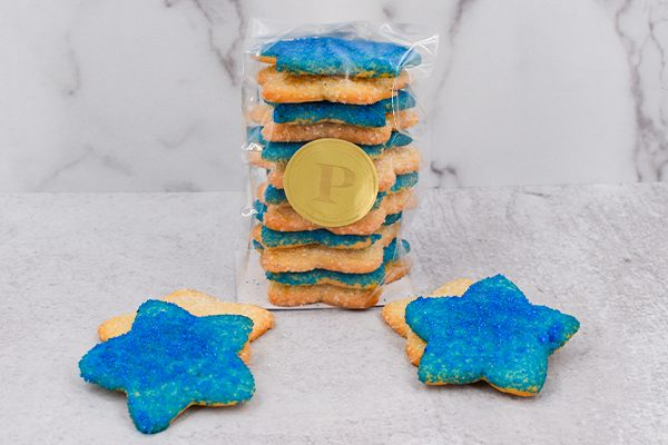 Star Sugar Cookie Stacks